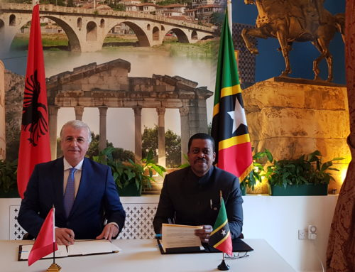 St. Kitts and Nevis signs Visa Waiver Agreement with the Republic of Albania