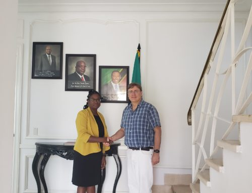 ST. KITTS AND NEVIS AMBASSADOR TO CUBA MEETS WITH HER CANADIAN COUNTERPART