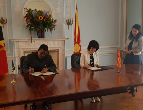 St. Kitts and Nevis establishes diplomatic relations with the Republic of North Macedonia
