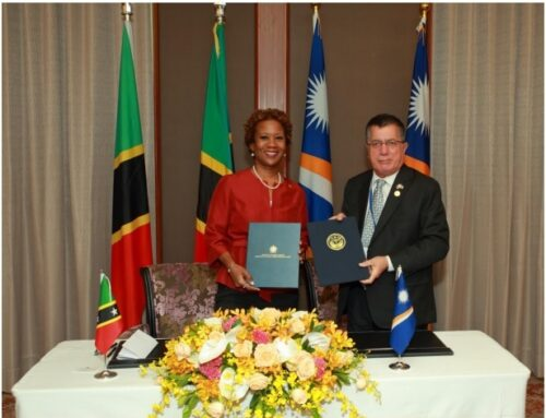 Saint Kitts and Nevis signs Visa Waiver Agreement with the Republic of the Marshall Islands