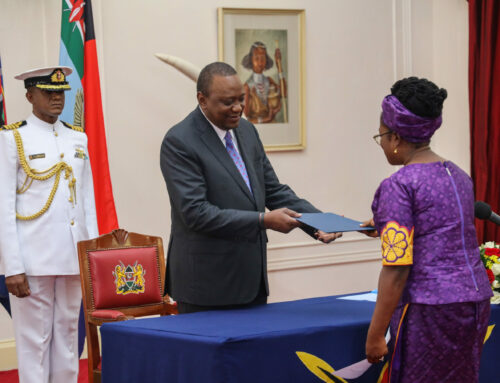 H.E. Verna Mills accredited as First Non-Resident High Commissioner of Saint Kitts and Nevis to Kenya